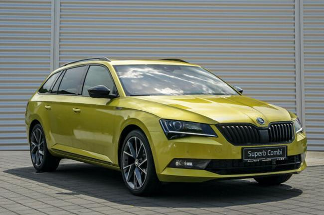 ŠKODA Superb Co Sportline 2,0