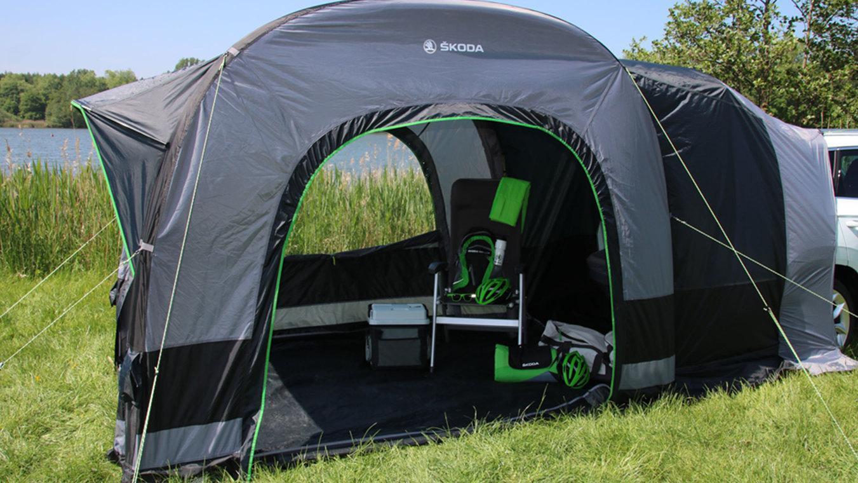 ŠKODA Campingzelt Komplett-Set