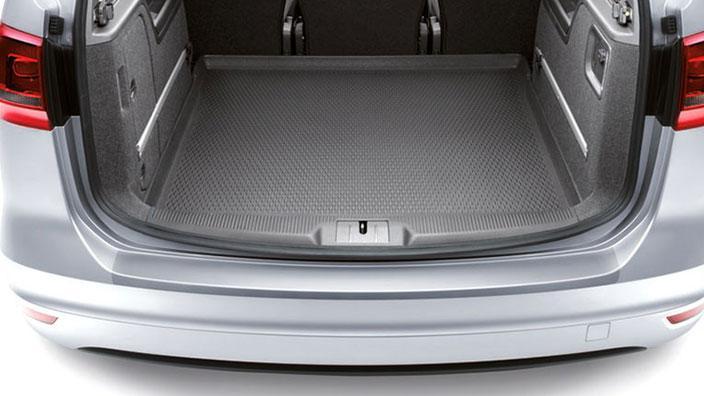 VW Sharan Ladekantenschutz