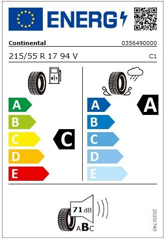 4 Stück Sommerreifen Continental ContiPremiumContact 5